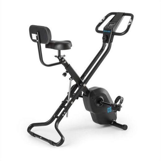 Capital Sports Fahrradtrainer »Azura X2 X-Bike bis 120 kg Pulsmesser klappbar schwarz«