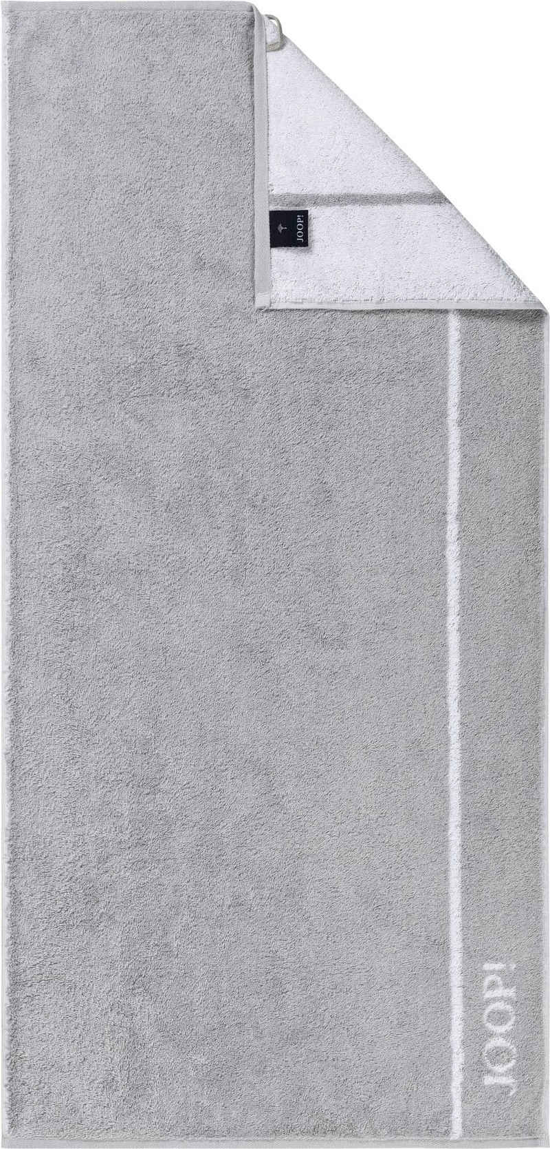 Joop! Handtücher »JOOP! LINES« (2-St), in Doubleface-Optik