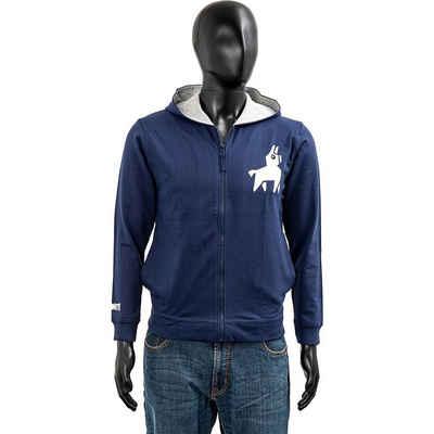 Fortnite Sweatshirt »Hoodie Kids Loot Lama Blue 176cm«