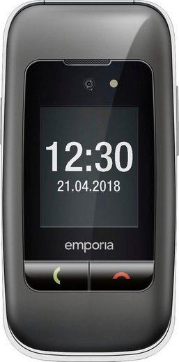 Emporia ONE Seniorenhandy (6,1 cm/2,4 Zoll, 2 MP Kamera, Vibrationsalarm; Erinnerungsfunktion für Geburtstage; Notruffunktion; Hörgerätetauglich)