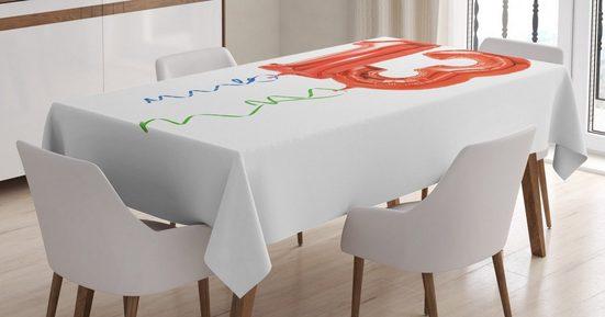Abakuhaus Tischdecke »Personalisiert Farbfest Waschbar Für den Außen Bereich geeignet Klare Farben«, Party Red Balloons 13