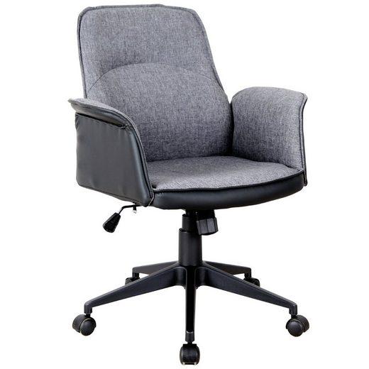 Vinsetto Schreibtischstuhl »Bürostuhl mit Wippfunktion«