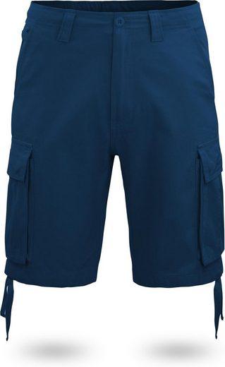 normani Bermudas »Herren Shorts Kalahari« Vintage Shorts kurze Sommershorts mit Cargotaschen aus 100% Bio-Baumwolle