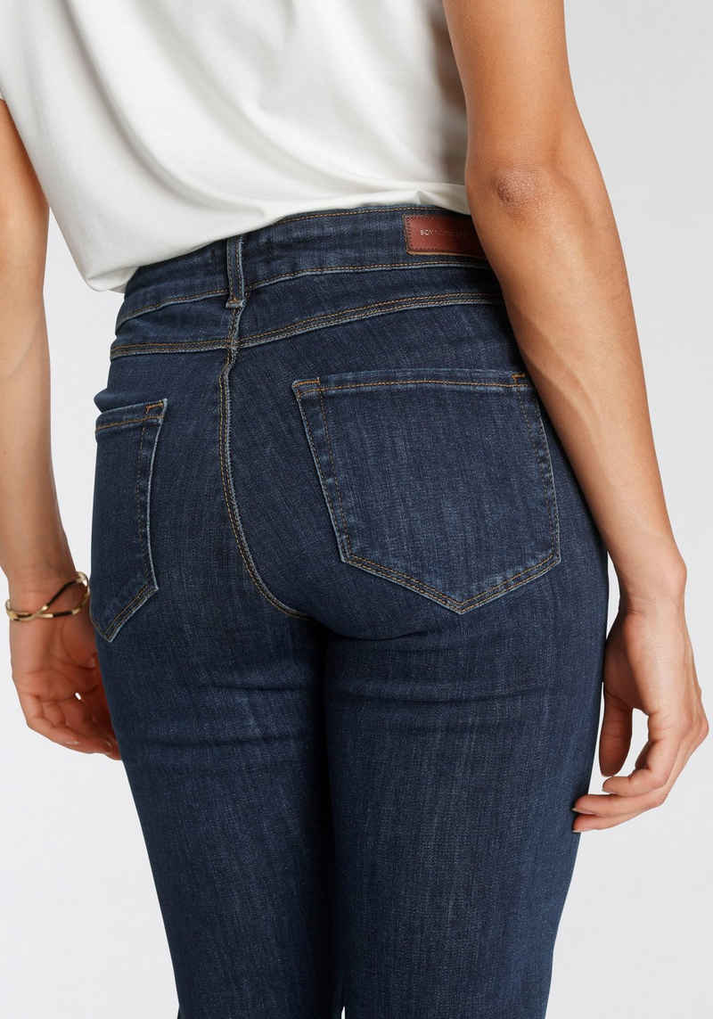 soyaconcept 5-Pocket-Jeans »SC-KIMBERLEY PATRIZIA« in dark blue, schmal geschnitten
