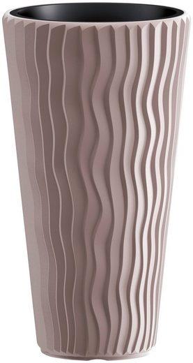 PROSPERPLAST Pflanzkübel »Sandy Slim«, mocca, ØxH: 39x70,8 cm