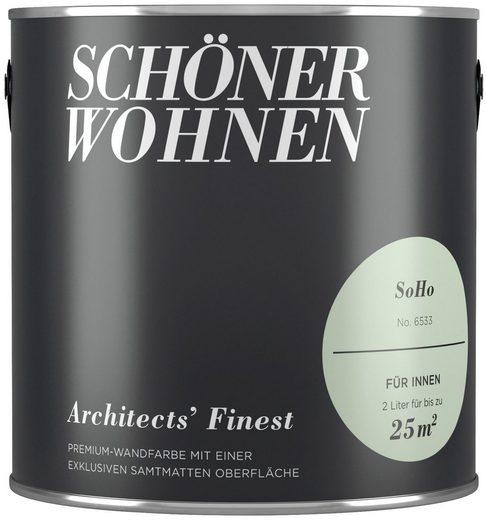 SCHÖNER WOHNEN-Kollektion Wand- und Deckenfarbe »Architects' Finest - Soho«, 2 l