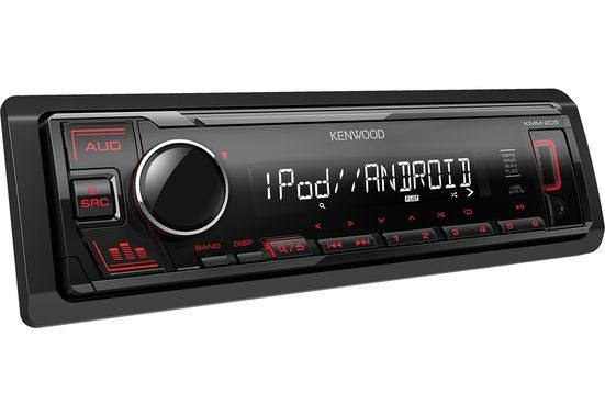Kenwood Audio-System (Kenwood KMM-205 - MP3, USB, iPhone - Android Autoradio)