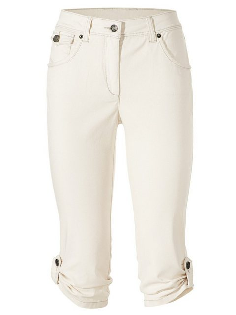 Hosen - ASHLEY BROOKE by Heine Caprijeans mit Bauchweg Funktion › weiß  - Onlineshop OTTO