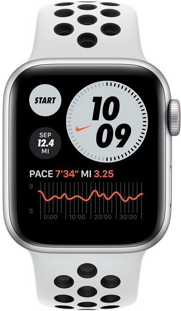 Smartwatches - Apple Nike SE GPS Cellular, Aluminiumgehäuse mit Nike Sportarmband 40mm Watch  - Onlineshop OTTO