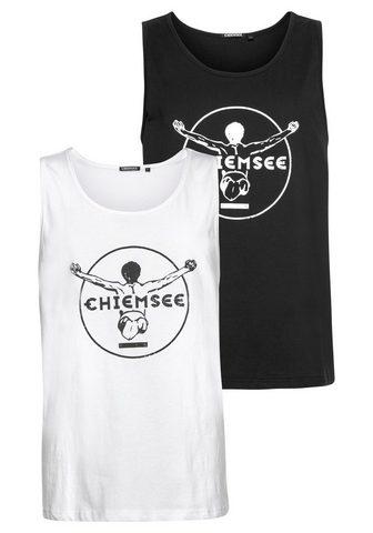 Chiemsee Marškinėliai be rankovių (Packung 2-tl...