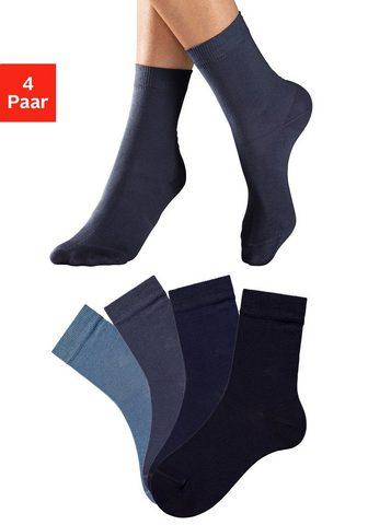 Lavana Socken (4-Paar) in unterschiedlichen F...