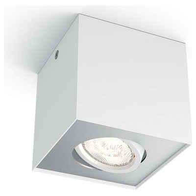 Philips LED Deckenstrahler »myLiving LED Aufbaustrahler, warmGlow, eckig, weiß«, Deckenstrahler, Deckenspot, Aufbaustrahler