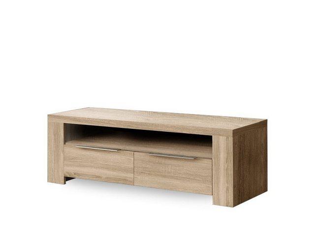 TV Möbel - expendio TV Board »Calvin«, eiche sonoma 124x41x50 cm mit Softclose Technologie  - Onlineshop OTTO