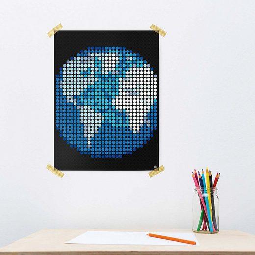 Dot On Malvorlage »dot on art space - erde, 30 x 40 cm«