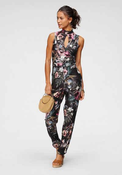 Melrose Overall mit femininem Cut-Out und modischem Blumen-Print