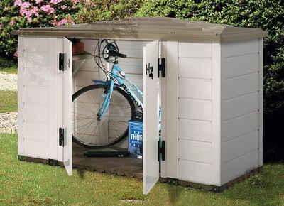 Garofalo Mülltonnenbox »EVO LINE 200«, Fahrradbox, BxTxH: 202,5x82,5x133 cm