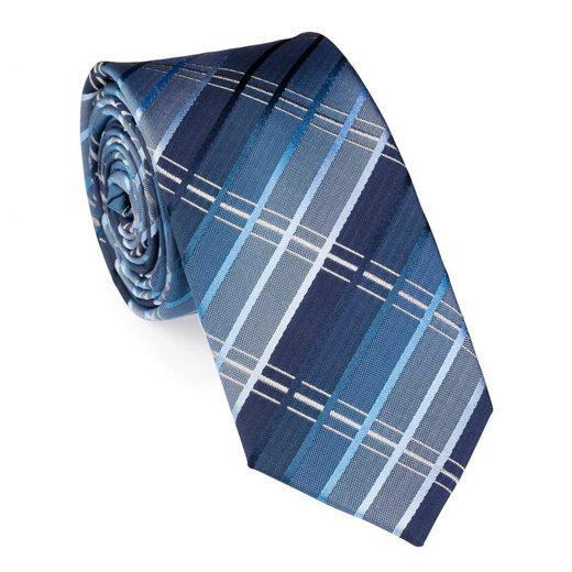 UNA Krawatte »Krawatte - Topazio - 6cm - Seide«