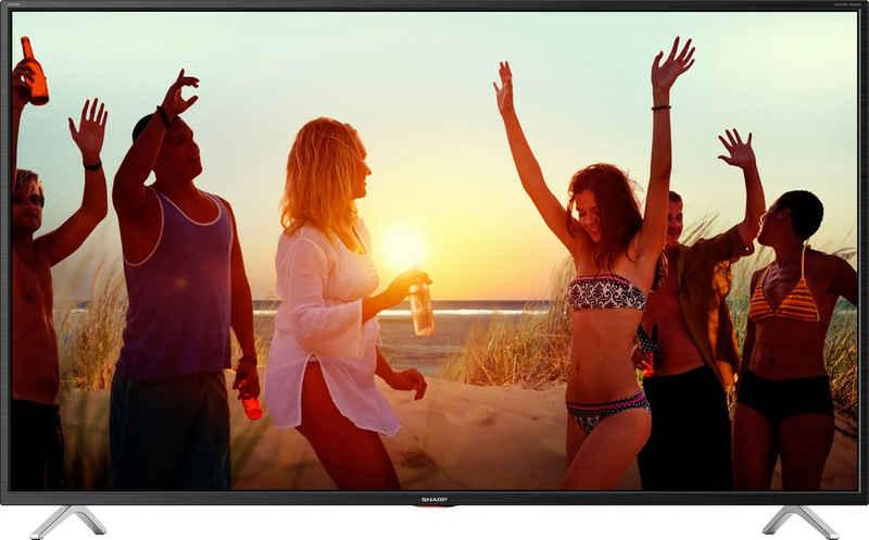 Sharp 4T-C50BNx LED-Fernseher (126 cm/50 Zoll, 4K Ultra HD, Smart-TV)