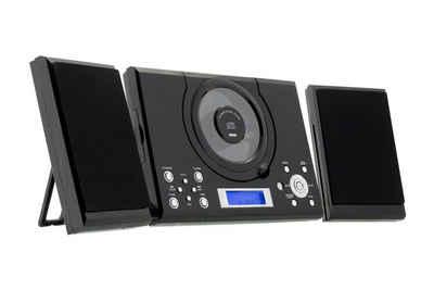 ROXX »MC201« Audio-System (UKW Radio, Stereoanlage mit CD-Player, Kopfhöreranschluß und AUX-IN)