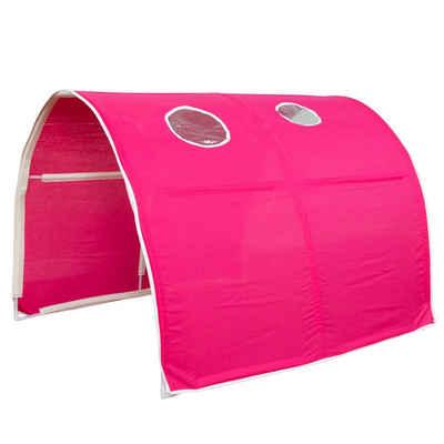Homestyle4u Betttunnel »Tunnel Bogen Zelt Bettzelt für Kinderbett«