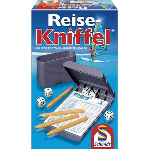 Schmidt Spiele Spiel, »Reise-Kniffel mit Zusatzblock«