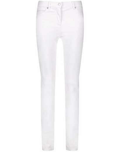 GERRY WEBER Stretch-Jeans »Jeans SkinnyFit4me Kurzgröße organic cotton« (1-tlg) 5-Pocket