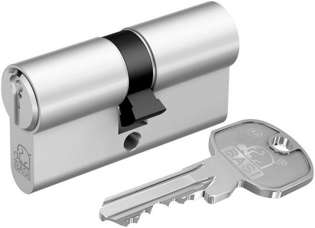BASI Zylinderschloss »30/45 mm mit Not- & Gefahrenfunktion«, AS Profil-Doppelzylinder