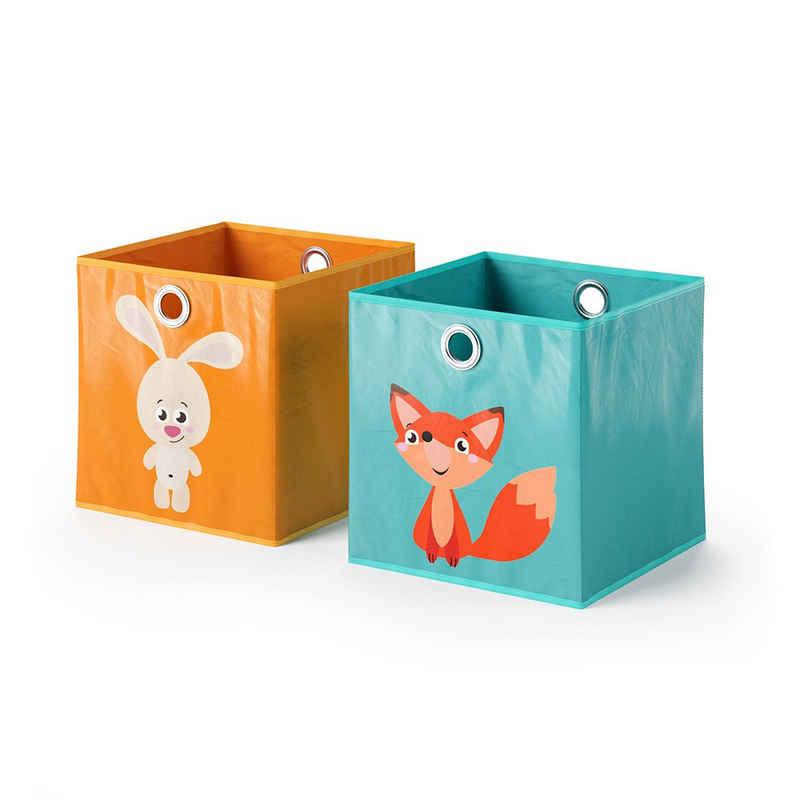 Vicco Faltbox »2er Set 30x30 cm Kinder Faltkiste Aufbewahrungsbox Regalkorb«