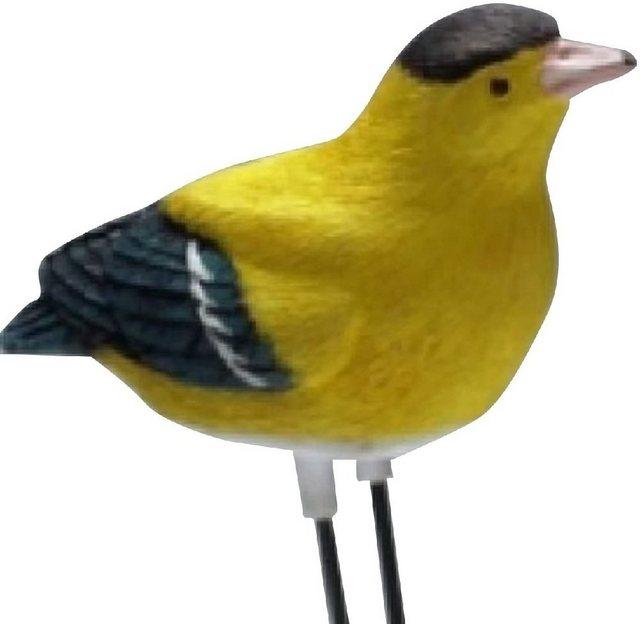 JOKA international »Feuchtigkeits Sensorvogel gelb singender Vogel Feuchtikeitsmesser für Pflanzen 14354« Wassermelder (Feuchtigkeits-Sensorvogel in gelb)