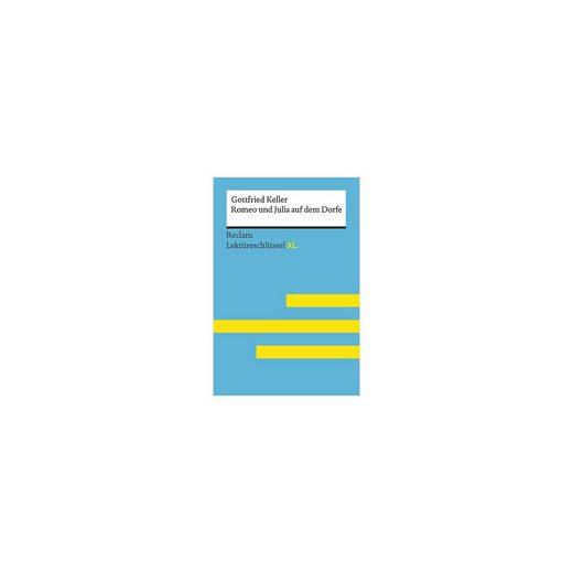 Reclam Verlag Gottfried Keller: Romeo und Julia auf dem Dorfe