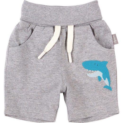 Sigikid Shorts »Baby Jerseyshorts für Jungen, Hai, Organic Cotton«