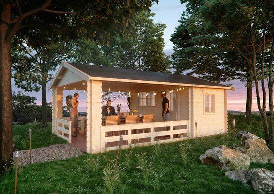 Skanholz Gartenhaus »Alicante 3«, BxT: 420x653 cm, (Set)