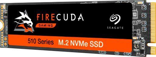 Seagate »FireCuda 510 NVMe SSD 500GB« Gaming-SSD (500 GB) 3450 MB/S Lesegeschwindigkeit, 2500 MB/S Schreibgeschwindigkeit)