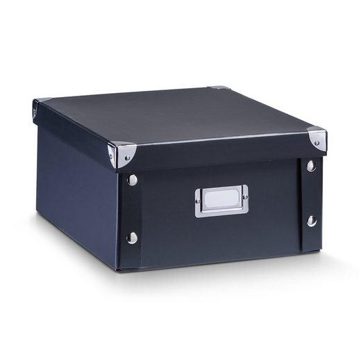 HTI-Living Aufbewahrungsbox »Aufbewahrungsbox, Pappe Schwarz«, Aufbewahrungsbox