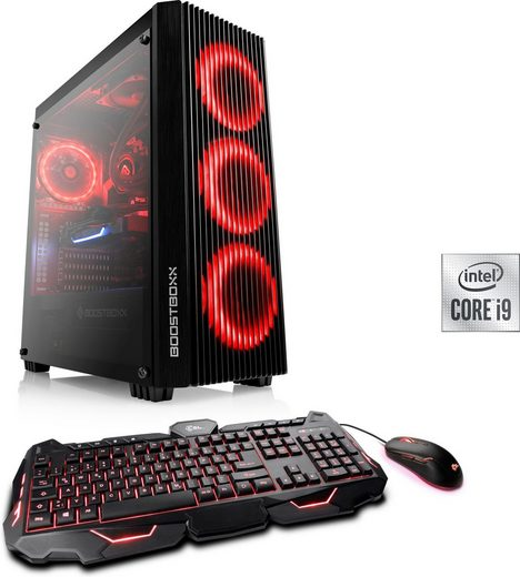 CSL HydroX T9612 Gaming-PC (Intel Core i9 10900F, RTX 3070, 16 GB RAM, 1000 GB SSD, Wasserkühlung)