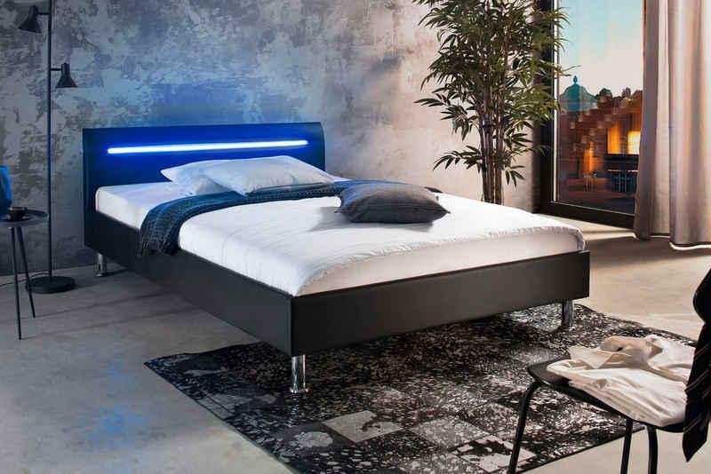 meise.möbel Polsterbett, mit LED-Beleuchtung