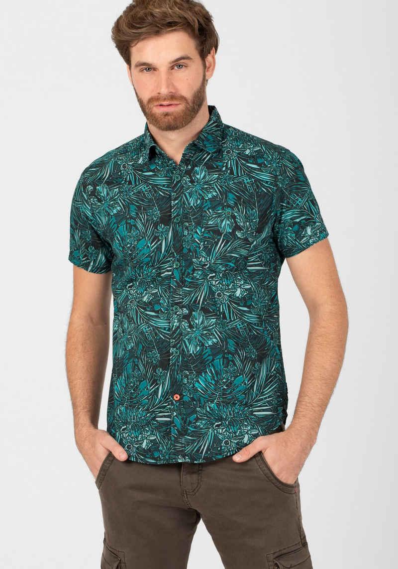TIMEZONE Kurzarmhemd »Tropical Shirt«
