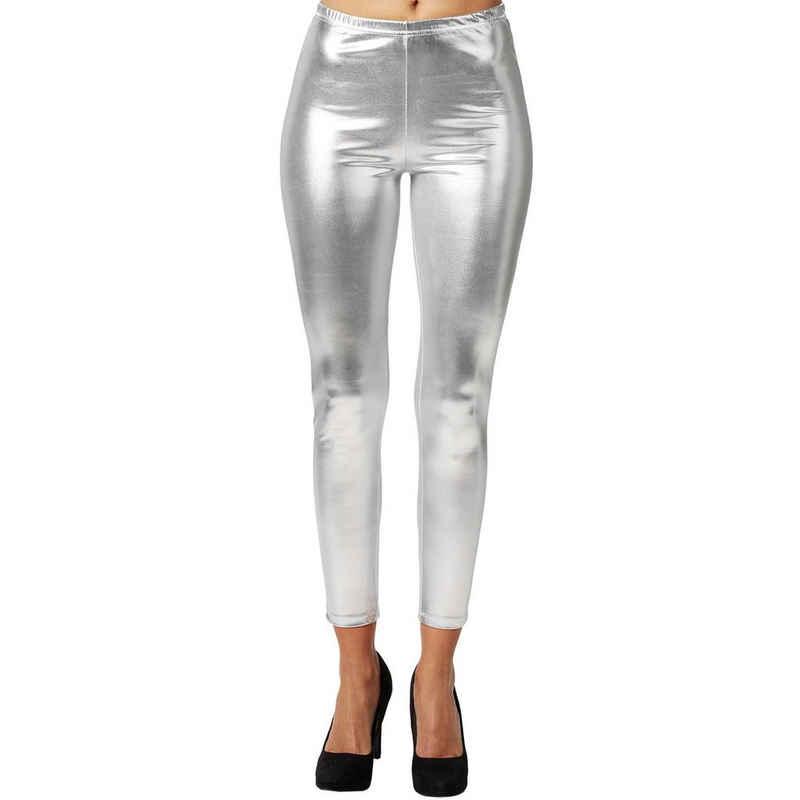 dressforfun Leggings »Metallic-Leggings« (1-tlg)