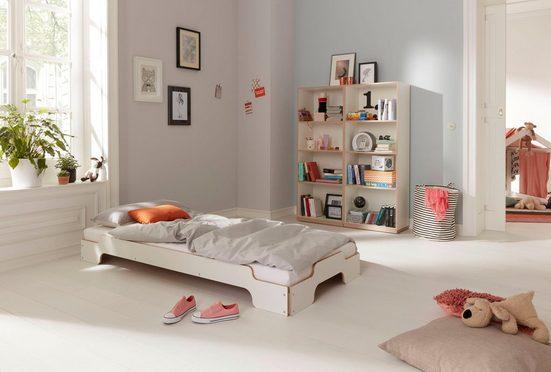 Müller SMALL LIVING Stapelbett »STAPELLIEGE Komfort (eine Liege)«, Gestell: Komforthöhe 27.5 cm, ausgezeichnet mit dem German Design Award - 2019