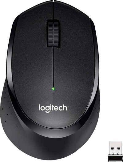 Logitech »M330 Silent Plus Black« Maus