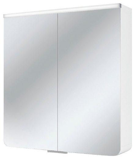 JOKEY Spiegelschrank »Xanto Line«, weiss, 63 cm Breite