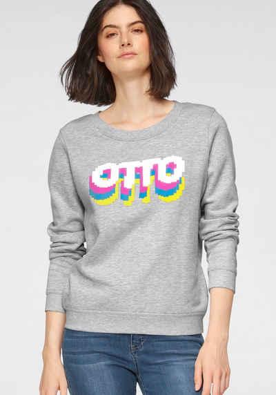 OTTO Sweater »Otto Logo Pride Edition« aus Bio-Baumwolle mit LOGO-Print