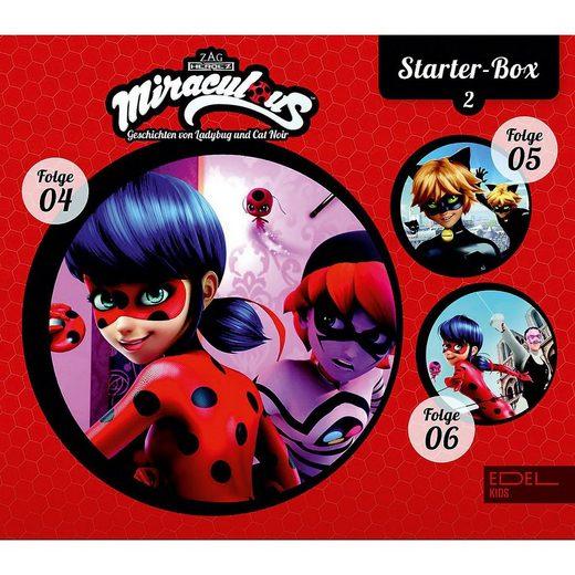 Edel Hörspiel »CD Miraculous Starter-Box 2 (Folge 4-6)«