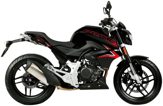 PRIKE Motorrad »PXN 125 Naked«, 125 ccm, 102 km/h, Euro 4