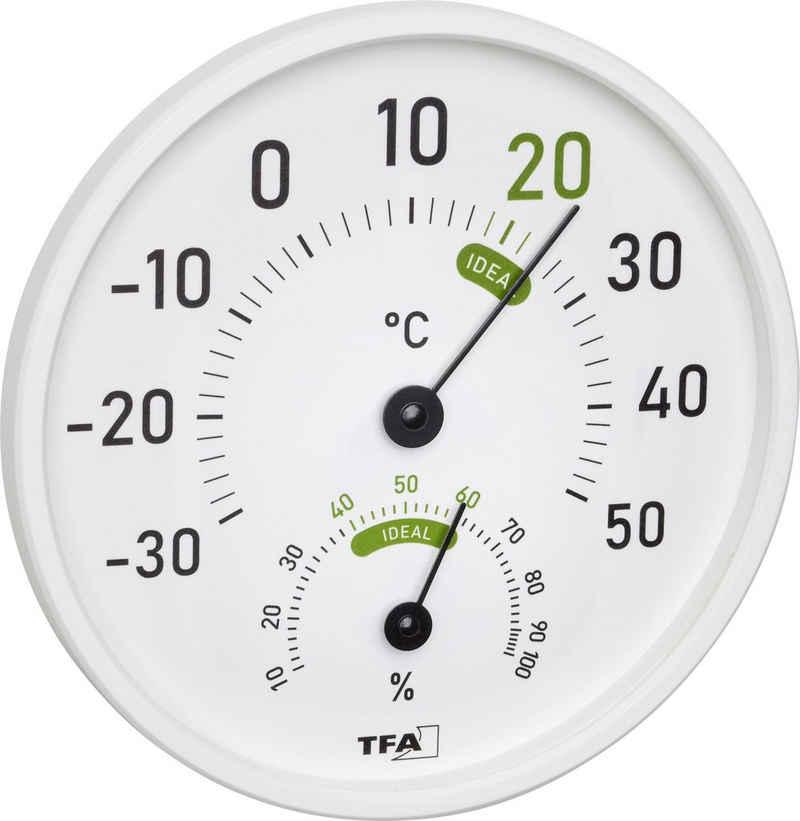 TFA Dostmann »Thermo-Hygrometer für innen und außen 45.2045.02« Funkwetterstation