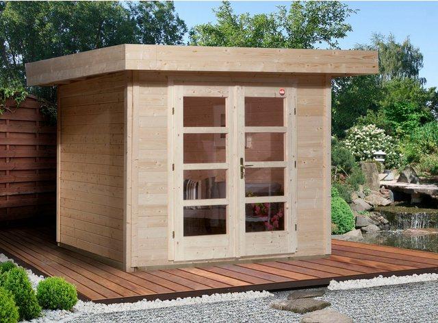 Weka Gartenhaus Chill-Out Gr. 3, BxT: 295x300 cm, natur