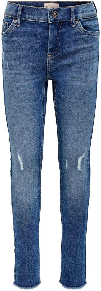 KIDS ONLY Stretch-Jeans »KONBLUSH« mit dezenten Abriebeffekten
