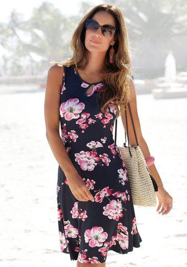 Beachtime Sommerkleid mit Blumenprint