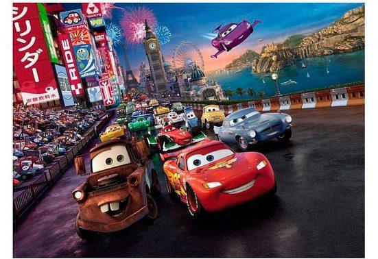 Komar Fototapete »Cars Race 254x184cm«, glatt, Comic