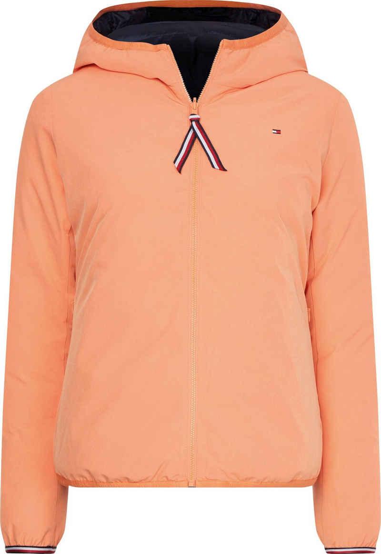 Tommy Hilfiger Wendejacke »TH ESS Reversible Padded Jacket« im Gesteppt- und Glatt-Design, eine Jacke zwei Looks & Farben